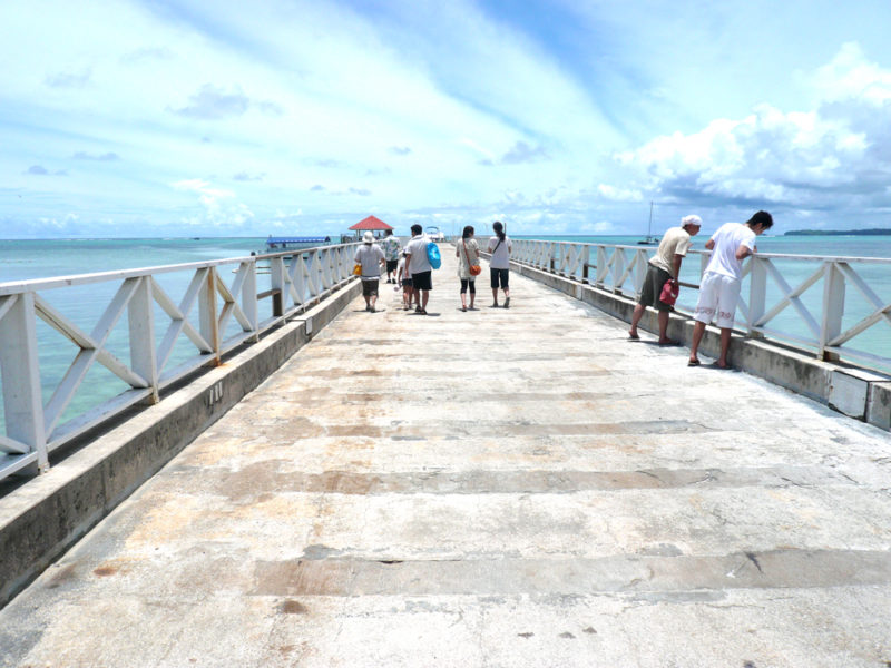 グアムのココス島