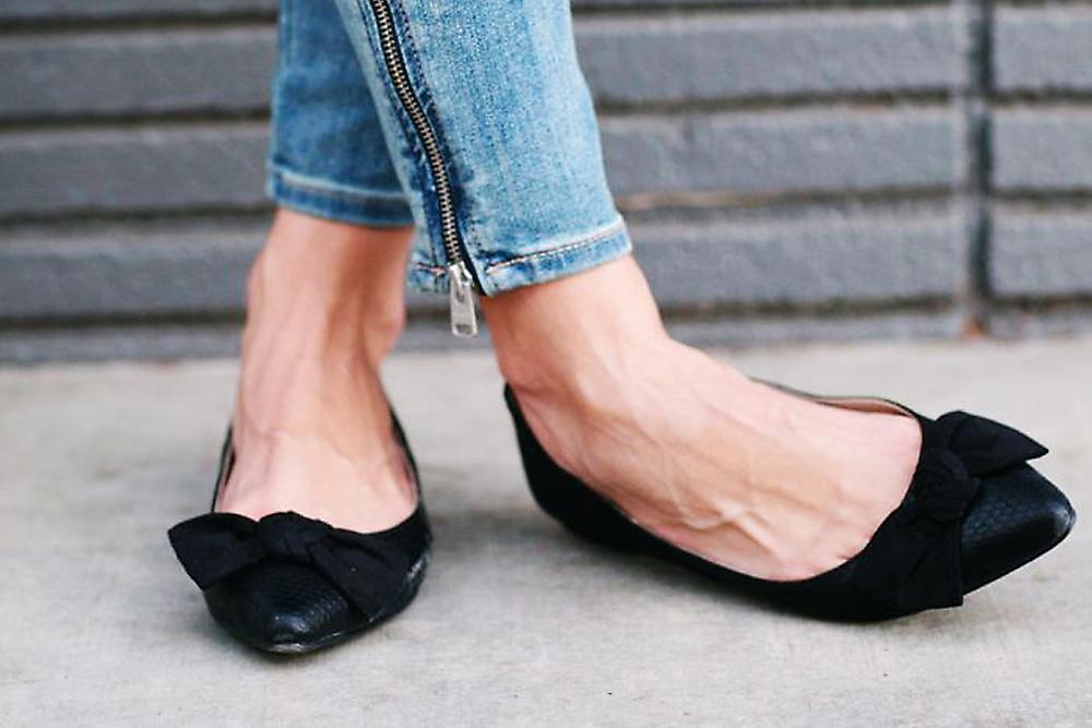 東日本大震災。偶然履いたペタンコ靴。