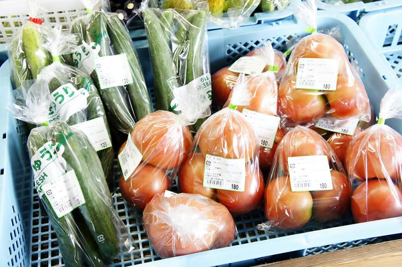 阿蘇の道の駅に売ってた野菜