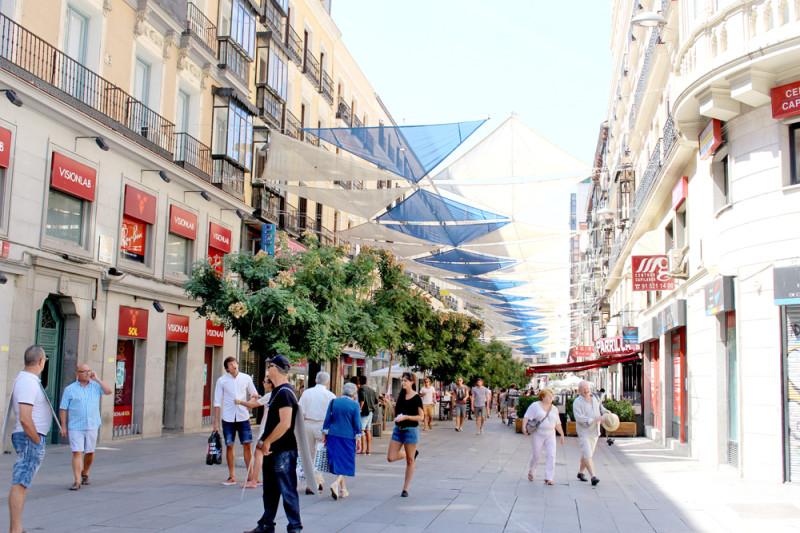 歩くだけでも楽しい!首都マドリードの街並み