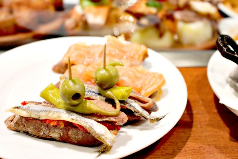 スペインで食べた美味しい食べ物、ピンチョス