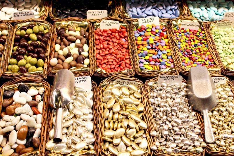 スペインのサン・ジョセップ市場に売ってたチョコ