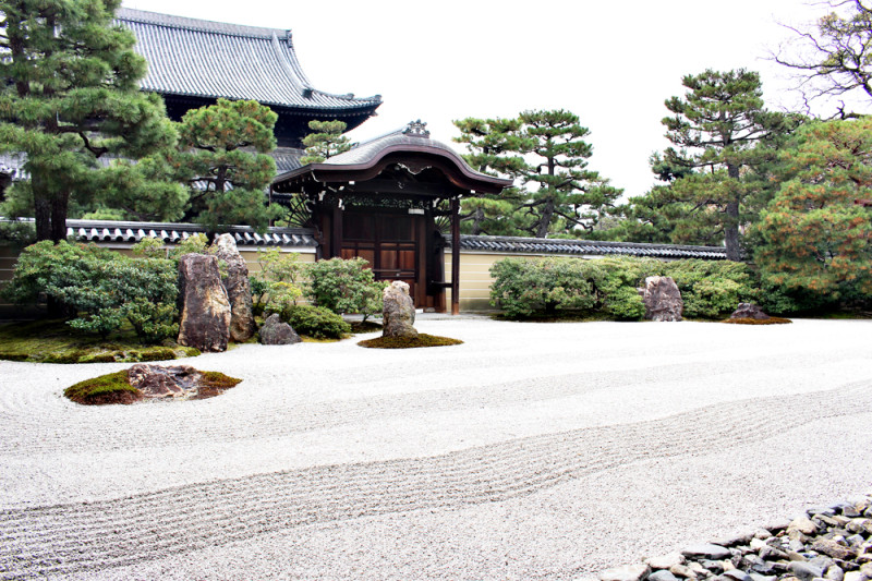 年始は京都へ、建仁寺に行ってきた