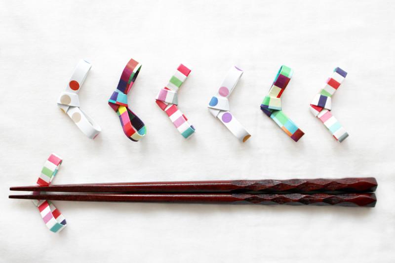 簡単 折り紙 折り紙で作る箸置き : conobie.jp
