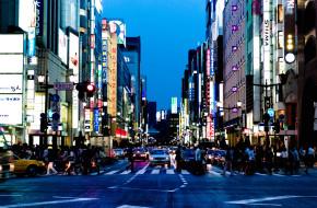 久しぶりの東京、銀座