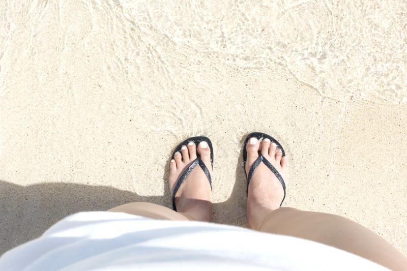 「天国の海」ラニカイ ビーチ