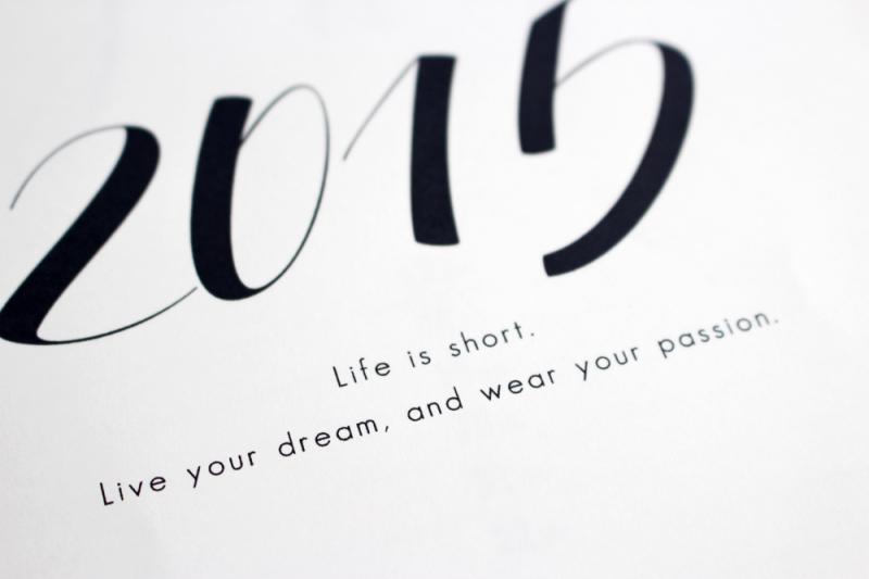 2015年のカレンダーつくってみました♪(テンプレート無料配布)