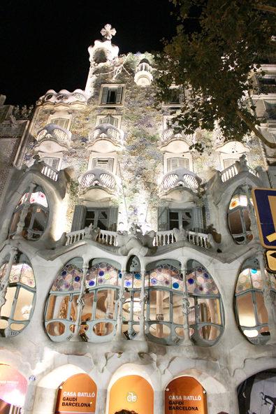 スペインのバルセロナをお散歩(カサ・バトリョ邸)