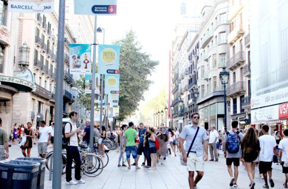スペインのバルセロナをお散歩