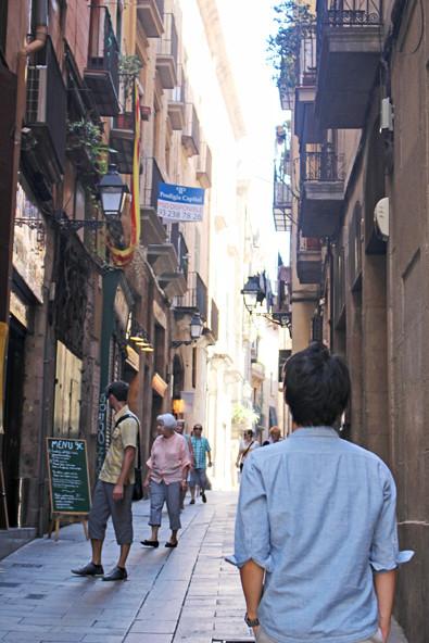スペインのバルセロナをお散歩(バルセロナの建物)