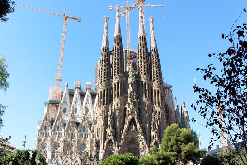 スペインのバルセロナをお散歩(サグラダ・ファミリア)
