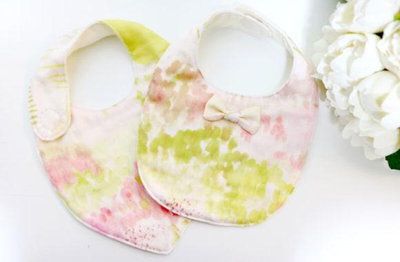 【妊娠6ヶ月目】8重ガーゼスタイを作ってみた&作り方(型紙あり)