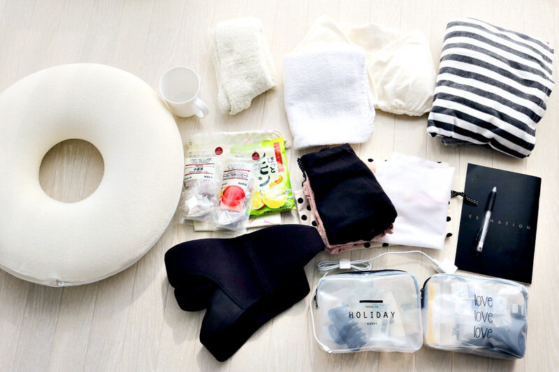 【出産準備】入院用バッグ(妊娠35週目)