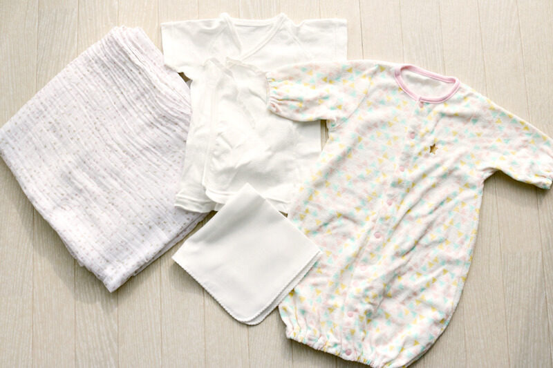 【出産準備】退院用バッグ(妊娠35週目)