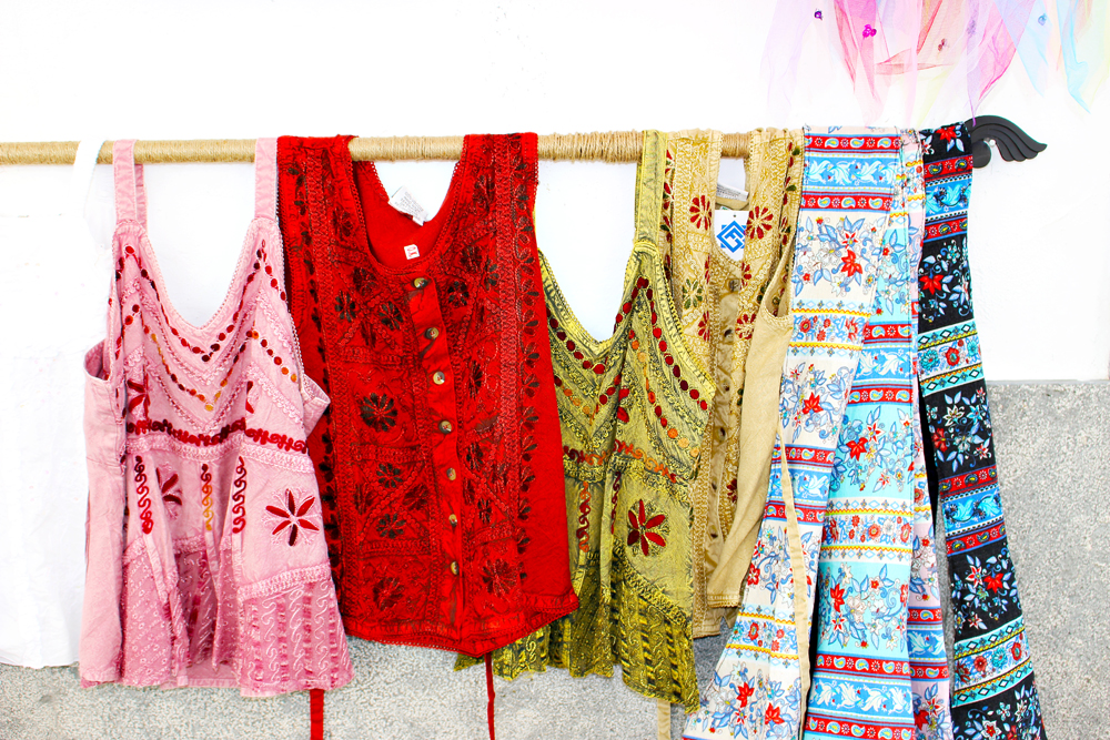 旧ユダヤ人街に売っていた子供服
