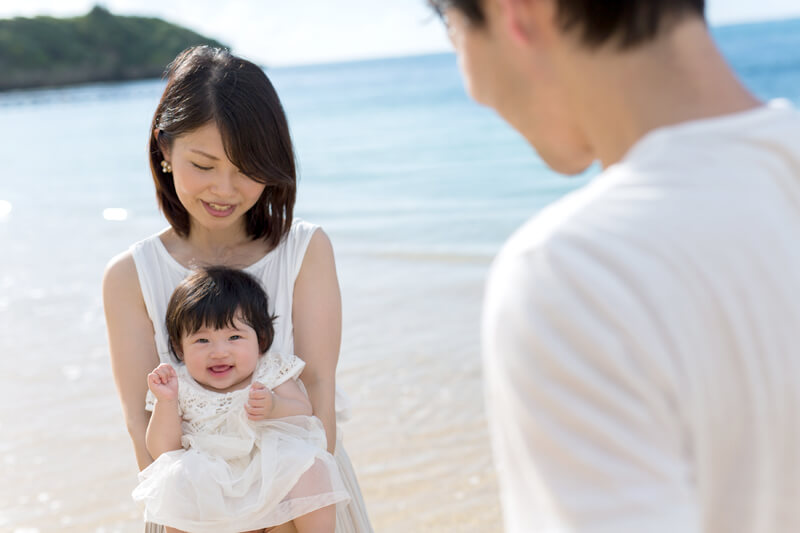 ロケーションフォト(家族写真) in 沖縄